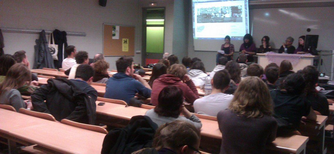 Ponencias de la charla de presentación de libros en Barcelona