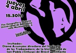 """Barcelona: charla de presentación de los talleres de """"Género y marxismo"""""""