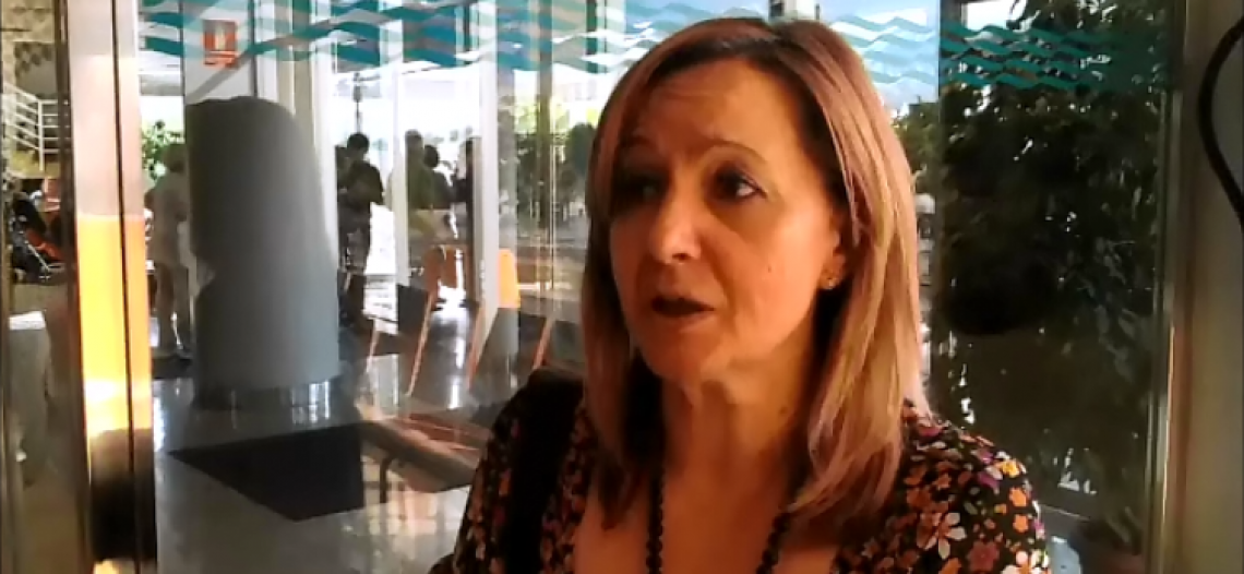 Entrevista a trabajadora de la limpieza de hospitales de Zaragoza