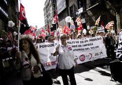 En apoyo a las trabajadoras de limpieza sanitarias de Aragón