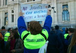 Todo el apoyo a la lucha de las trabajadoras y trabajadores de Limpieza del Ayuntamiento de Madrid