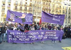 Un 8 de marzo combativo junto a las trabajadoras de Panrico
