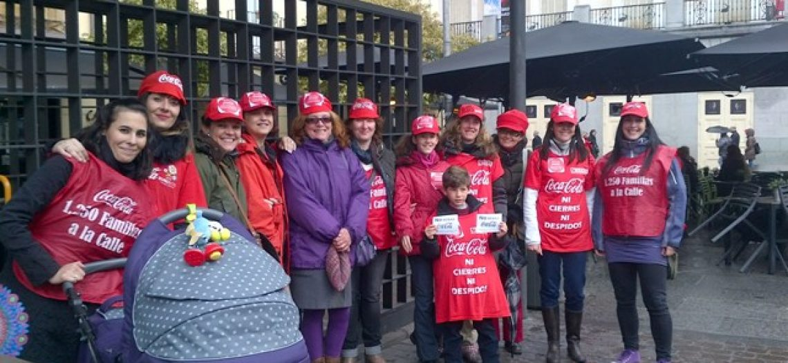 Trabajadoras de Coca Cola en lucha ¡Nosotras decidimos!