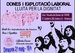 """Reunión """"Dones contra l'explotació laboral"""""""