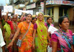 Huelga de recolectoras de excrementos en India