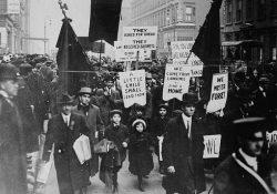A 103 años de la huelga de Pan y Rosas
