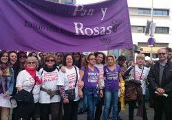 Miles de mujeres tomaron las calles en el Estado español