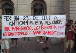 A 46 años de Stonewall,  Día del Orgullo LGTBI en Barcelona