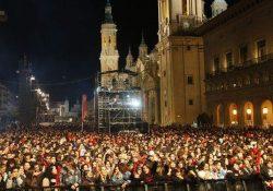 La cara mas amarga de las fiestas del Pilar en Zaragoza