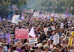 Madrid se llena contra las violencias machistas