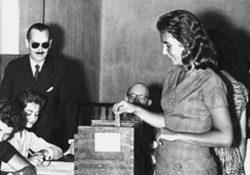 A 64 años de que las mujeres argentinas votasen por primera vez
