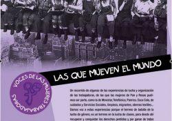 Suplemento 1º de mayo: 'Voces y relatos de mujeres trabajadoras'