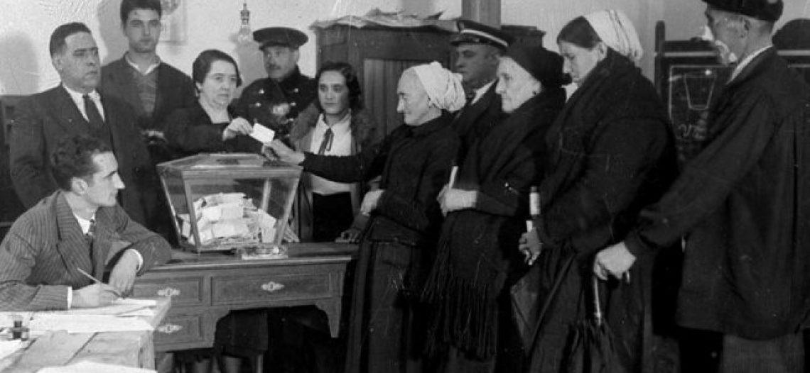 """126 años del sufragio """"universal"""", sin las mujeres"""