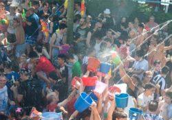 Batalla naval en las fiestas populares de Vallecas por un mundo sin machismo