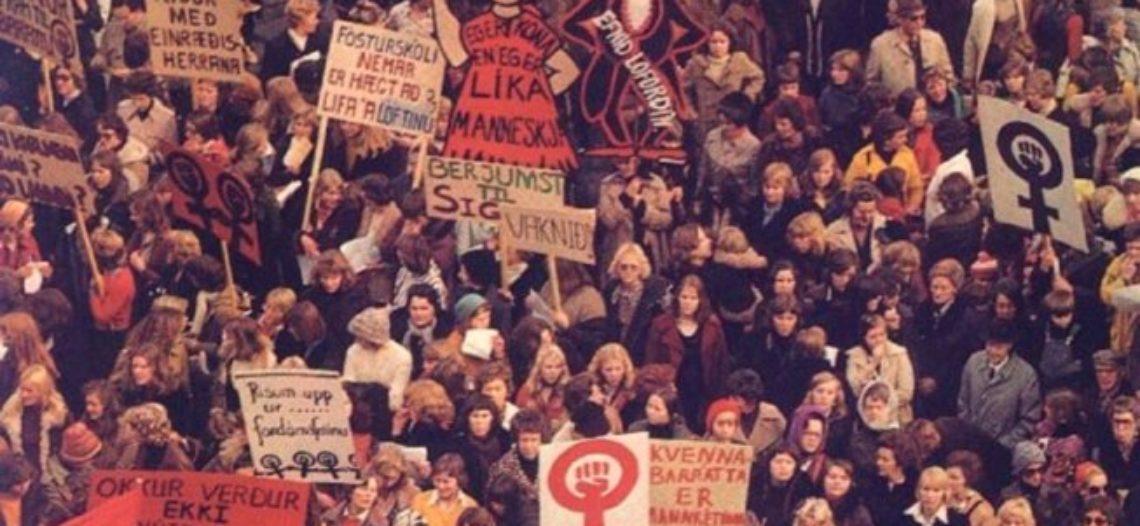 Huelga en Islandia por la igualdad salarial