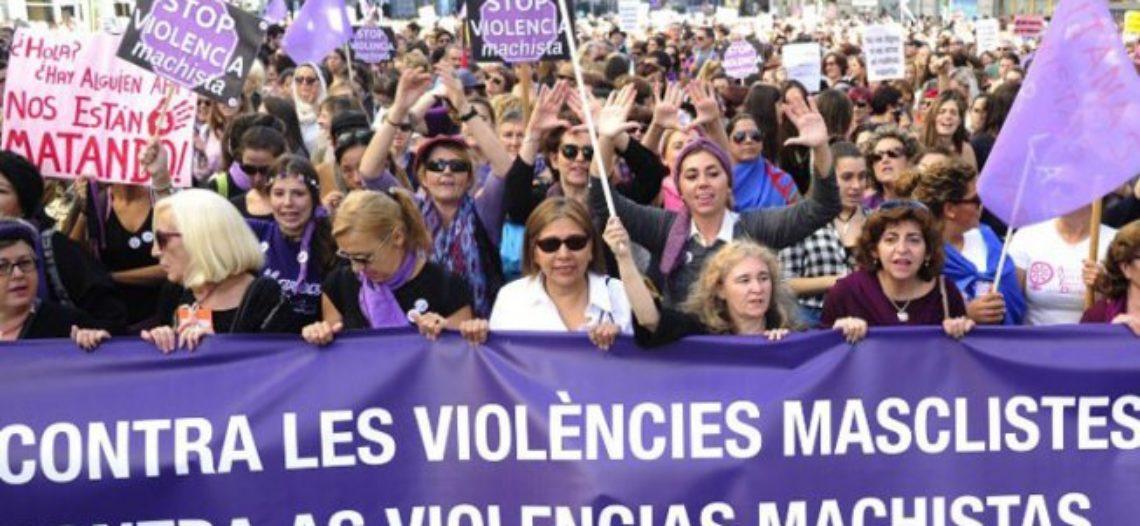 """El """"pacto contra la violencia machista"""" del Estado capitalista y patriarcal"""