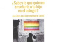 """Hazte Oír reparte panfletos contra la """"conversión de individuos en homosexuales"""" en las escuelas"""