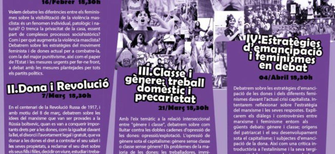 Comenzó el Ciclo Género y Marxismo en Barcelona