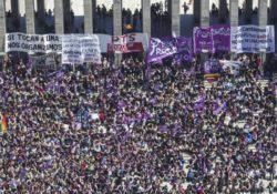 Manifiesto Internacional de la agrupación de mujeres Pan y Rosas