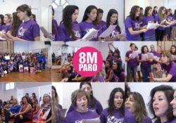 [Video] Pan y Rosas, un coro de mujeres canta por el 8 de marzo en Argentina
