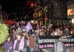 Gran manifestación en Vigo el Día Internacional de la Mujer Trabajadora