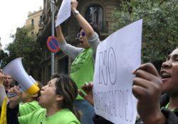 [Video] Pan y Rosas junto a Las Kellys por la prohibición de las externalizaciones