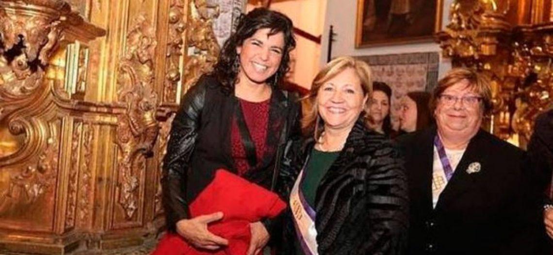 Feministas de Málaga cuestionan a Teresa Rodríguez por la medalla a la virgen