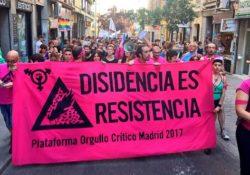 Un Orgullo crítico y anticapitalista marcha masivamente en Madrid contra el capitalismo rosa