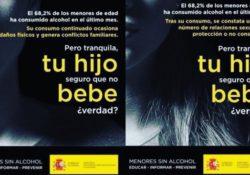 """""""Menores sin alcohol"""", la última campaña machista del Gobierno español"""