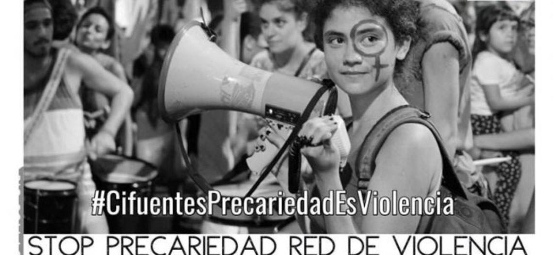 Trabajadoras de los centros de la Red de Violencia de género en lucha