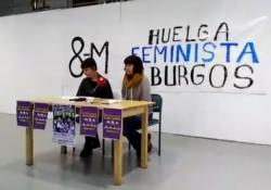 Campaña hacia la Huelga Feminista en Burgos