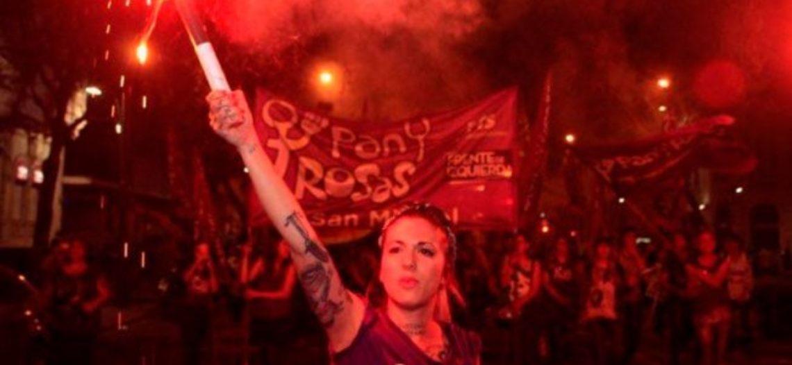 Pan y Rosas se prepara para el #8MHuelgaDeMujeres