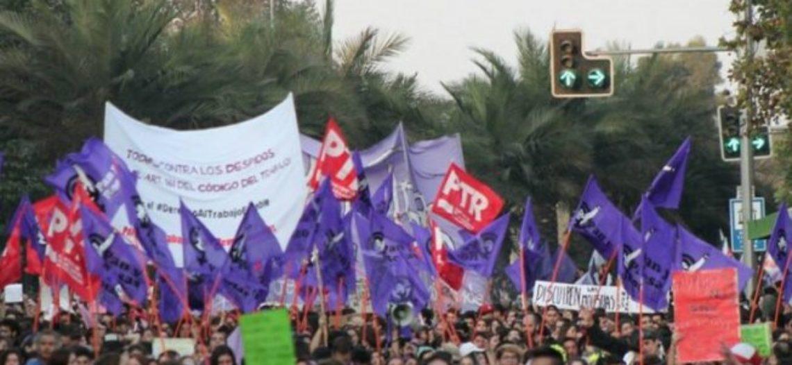 #8M: en Chile 100.000 personas salieron a las calles