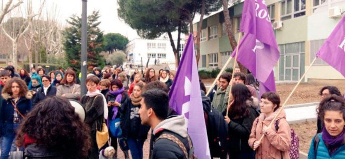 Pan y Rosas en la UAM: contra el patriarcado y el capital, un 8M combativo y de clase