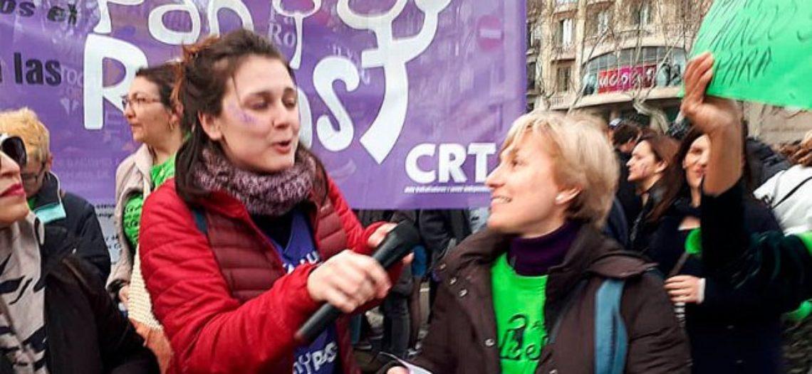 [VÍDEO] Imatges de les Kellys a la gran jornada del 8M