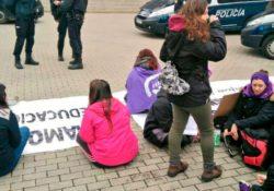 Manifiesto sobre las cargas policiales y la detención a dos huelguistas el 8M en Burgos