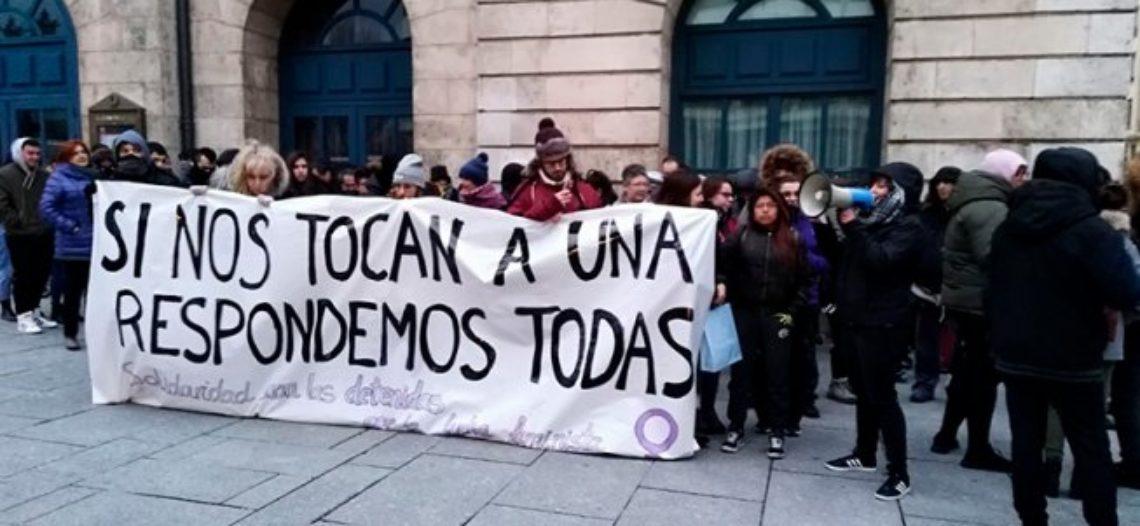 Burgos: una detinguda per la seva participació en la vaga del 8M