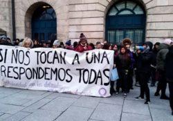 Burgos: una detenida por su participación en la huelga el 8M