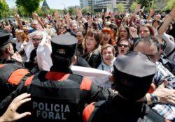 """Imágenes de las protestas contra la sentencia de """"La Manada"""""""