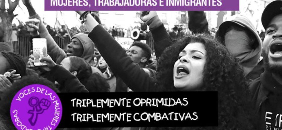 Triplement combatives! Com a dones, treballadores i immigrants