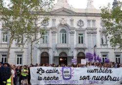 Miles marchan en Madrid contra la Justicia patriarcal