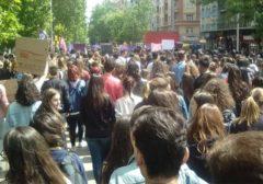 Masiva huelga estudiantil en todo el Estado y un debate necesario