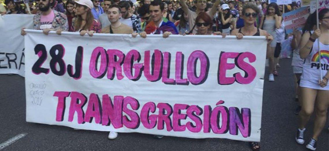 El Orgullo Crítico sale a la calle para retomar el espíritu de Stonewall