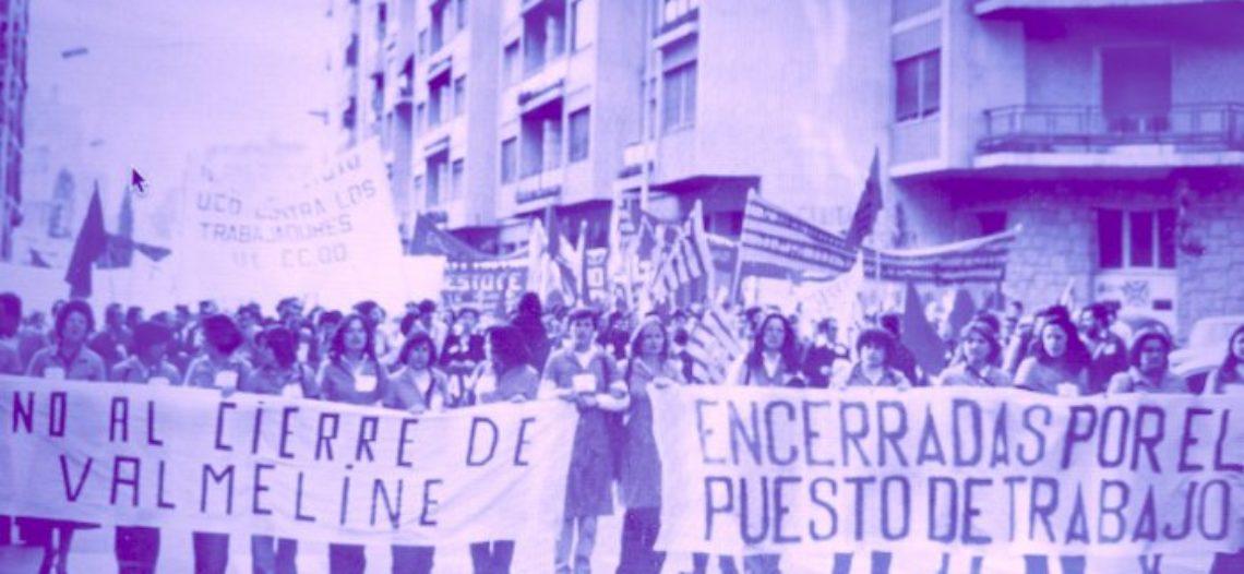 """Las de las """"Batas Rojas"""": obreras textiles contra el Franquismo"""