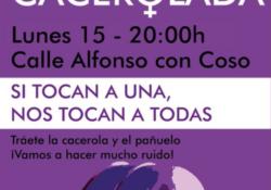 Protestas en Zaragoza contra las agresiones sexuales durante las Fiestas del Pilar
