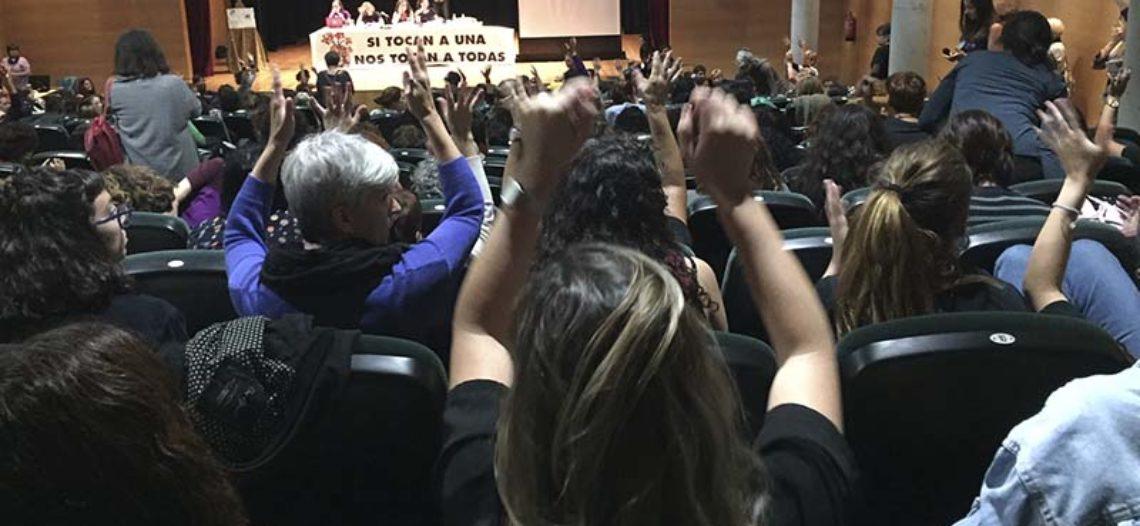 Cap a una gran vaga feminista 8M: postals de la IV Trobada estatal de Dones