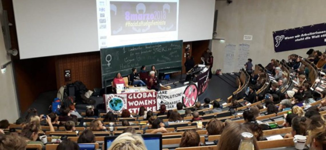 Trobada estatal de dones a Alemanya: un gran pas cap a una vaga el 8M