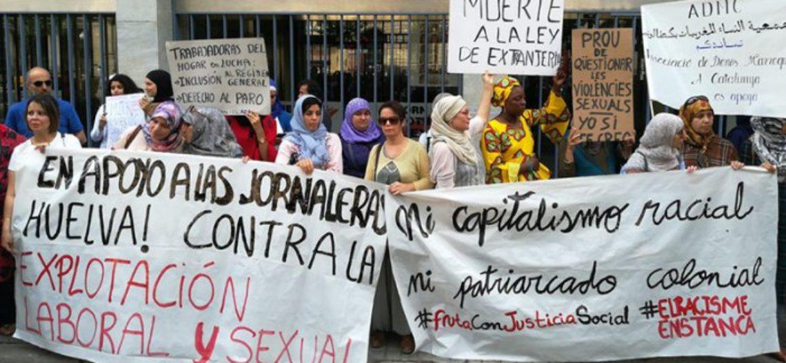 Temporeras de la fresa: justicia patriarcal con rancio olor a racismo y explotación