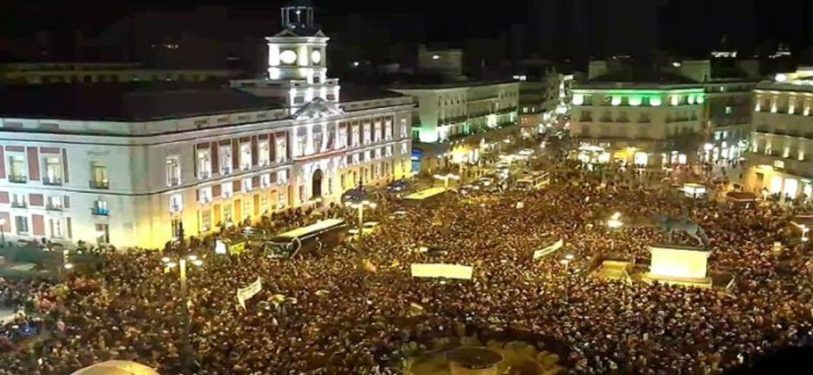 Masivas protestas de mujeres en todo el Estado contra el pacto de derechas en Andalucía