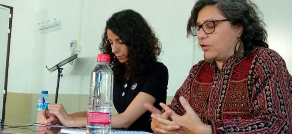 """Andrea D'Atri: """"¿vamos a pelear porque haya más mujeres empresarias o por terminar con la explotación capitalista?"""""""